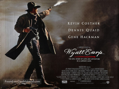 Wyatt Earp - British Movie Poster