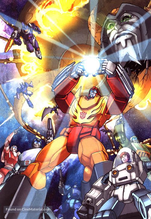 The Transformers: The Movie - Key art