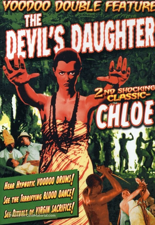 The Devil's Daughter - DVD movie cover