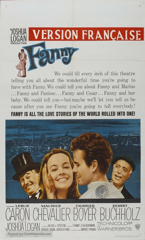 Fanny - Canadian Movie Poster