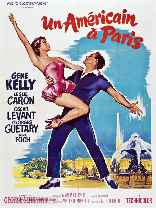 An American in Paris - French Movie Poster