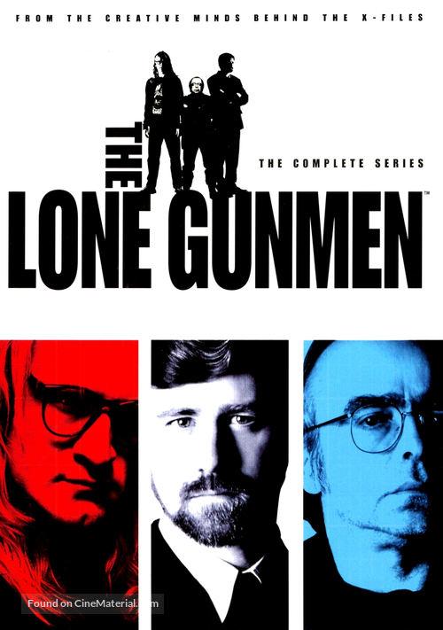 """The Lone Gunmen"" - DVD movie cover"