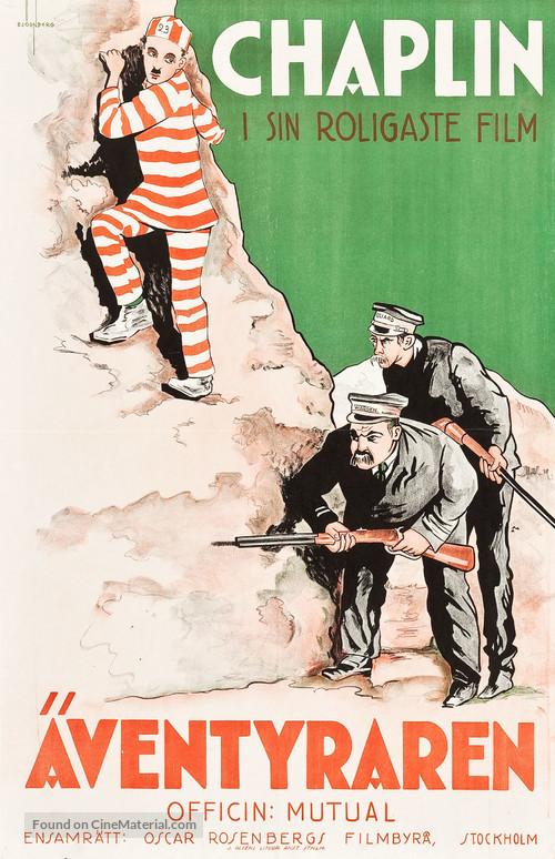 The Adventurer - Swedish Movie Poster
