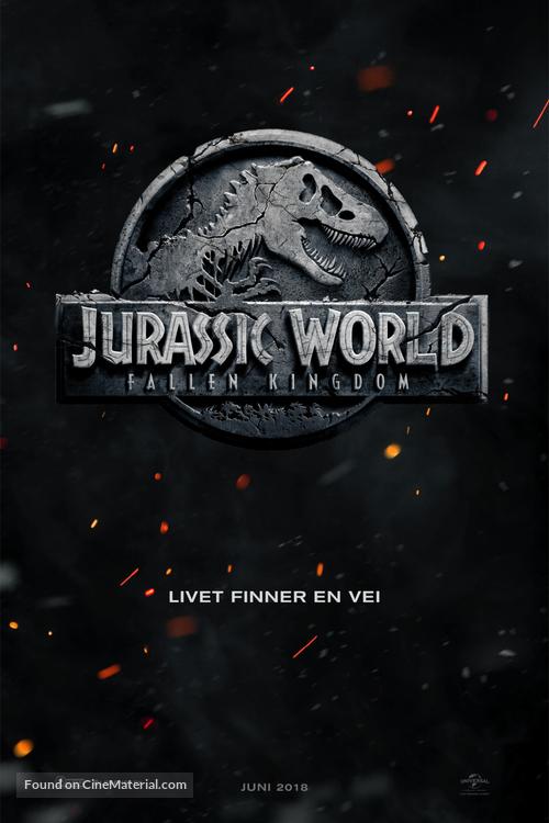 Jurassic World: Fallen Kingdom - Norwegian Movie Poster
