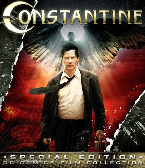 Constantine - Blu-Ray movie cover