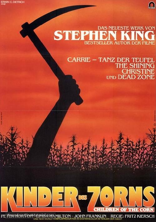 Children of the Corn - German Movie Poster