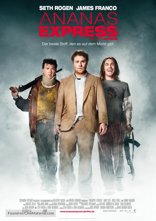 Pineapple Express - German Movie Poster