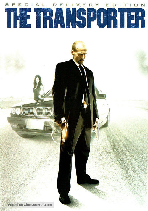 The Transporter - Canadian Movie Cover