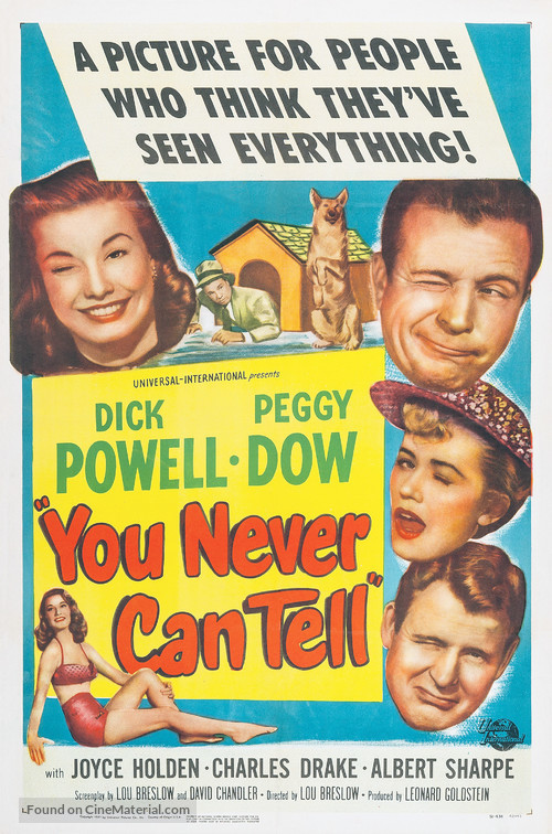 You Never Can Tell - Movie Poster