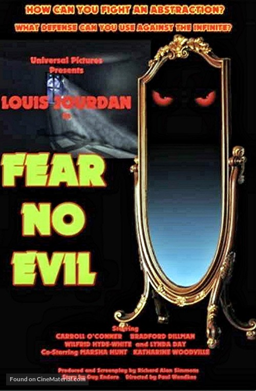 Fear No Evil - Movie Poster