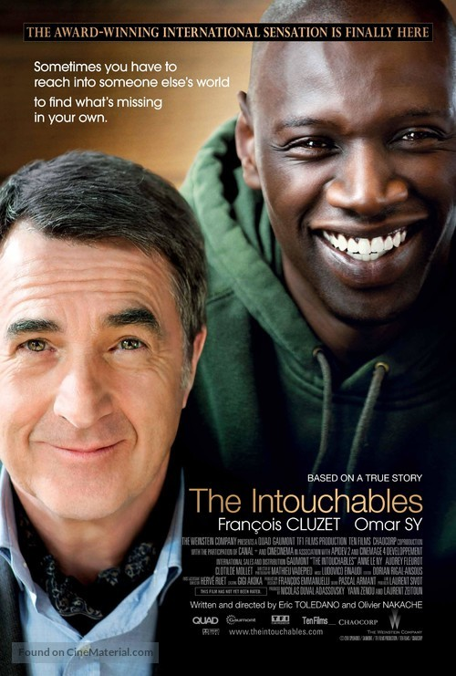 Intouchables - Movie Poster