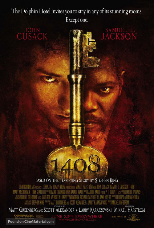 1408 - Theatrical movie poster