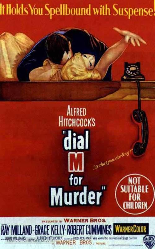 Dial M for Murder - Australian Movie Poster