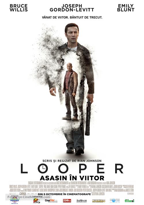 Looper - Romanian Movie Poster