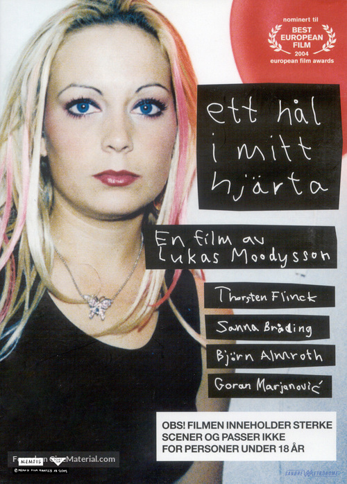 A Hole in My Heart - Swedish DVD movie cover