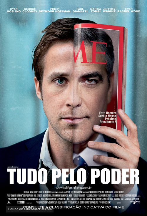 The Ides of March - Brazilian Movie Poster