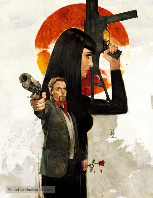 """Bullet in the Face"" - Key art"
