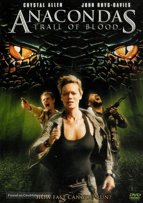 Anaconda 4: Trail of Blood - DVD movie cover