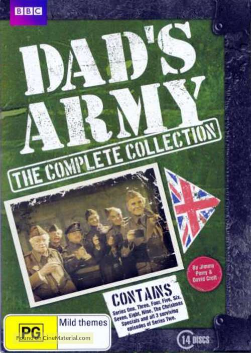 """Dad's Army"" - Australian DVD movie cover"
