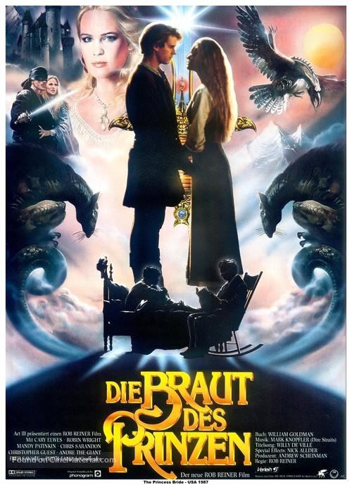 The Princess Bride - German Movie Poster