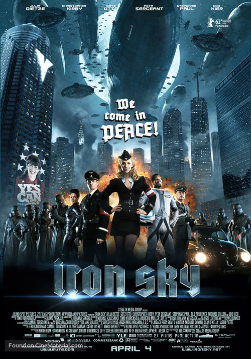 Iron Sky - Advance movie poster