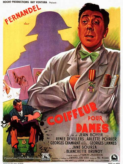 Coiffeur pour dames - French Movie Poster