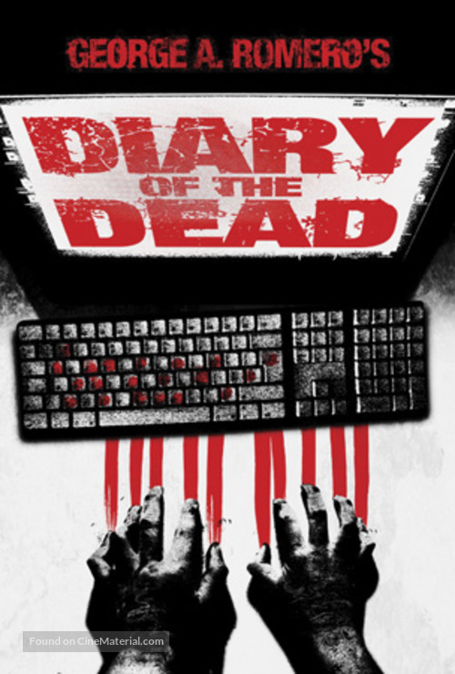 Diary of the Dead - British Movie Poster