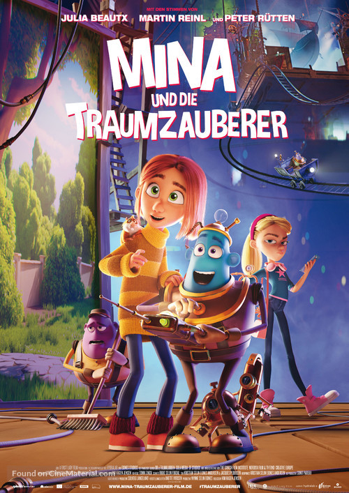 Dreambuilders - German Movie Poster