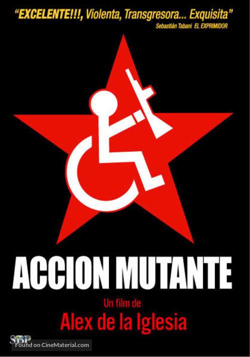 Acción mutante - Argentinian Movie Cover