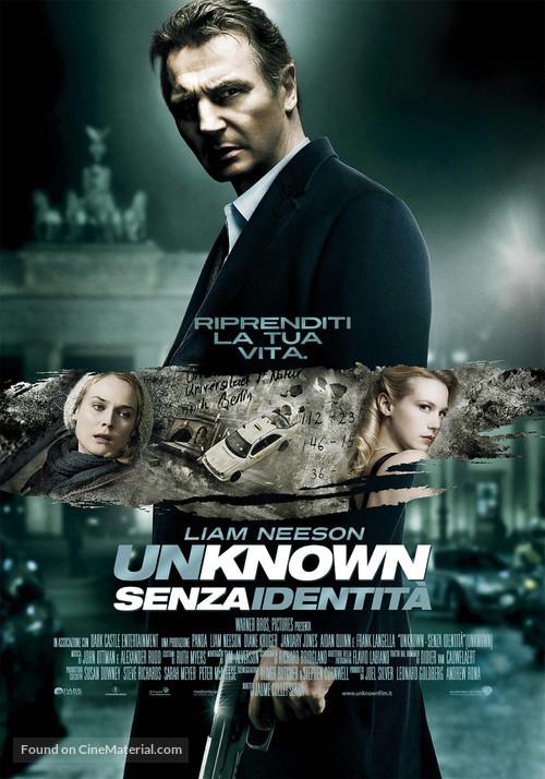 Unknown - Italian Movie Poster