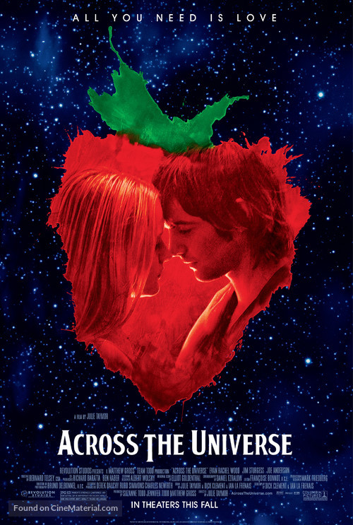 Across the Universe - Movie Poster