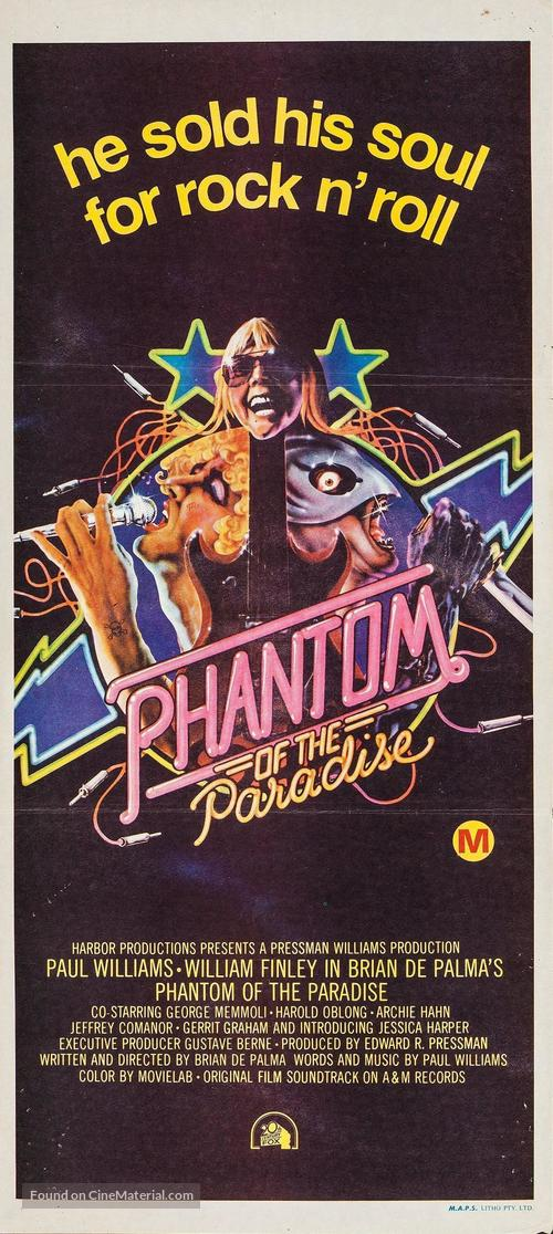 Phantom of the Paradise - Australian Movie Poster