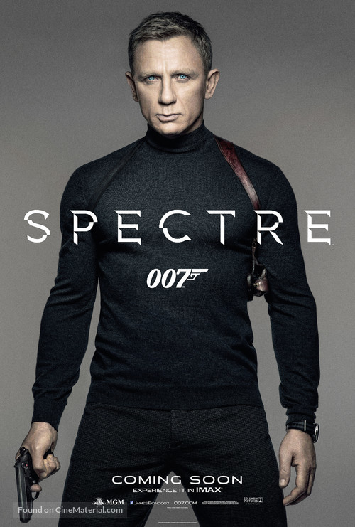 Spectre - British Movie Poster