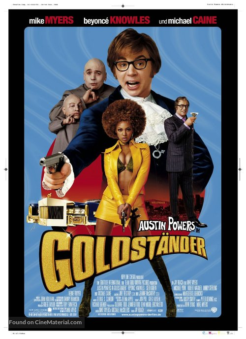 Austin Powers in Goldmember - German Movie Poster