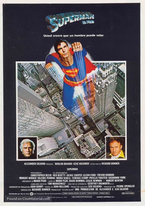 Superman - Spanish Movie Poster