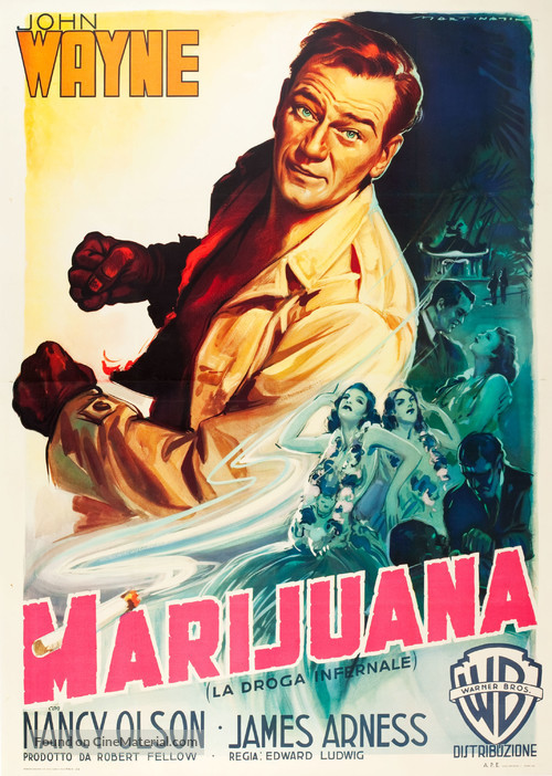 Big Jim McLain - Italian Movie Poster