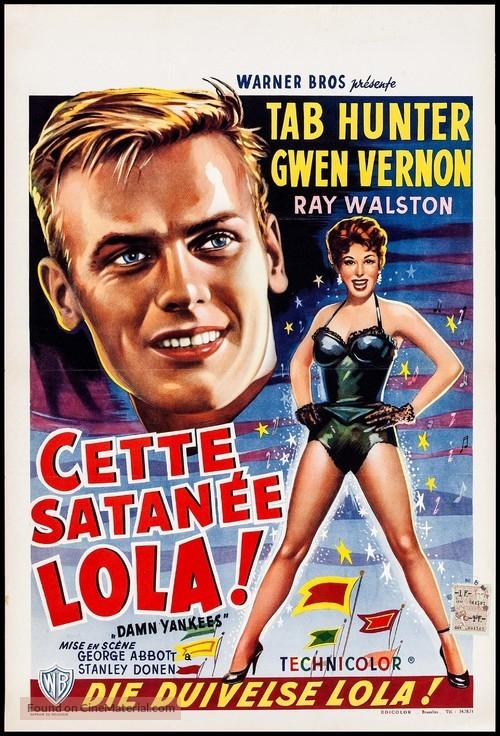 Damn Yankees! - Belgian Movie Poster