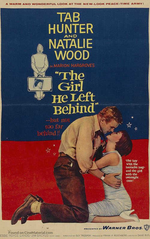 The Girl He Left Behind - Movie Poster