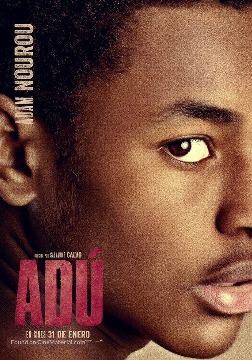 Adú - Spanish Movie Poster
