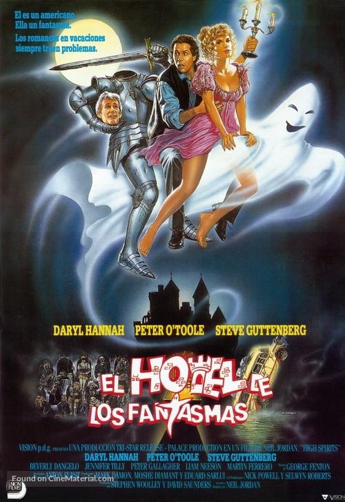 High Spirits - Spanish Movie Poster
