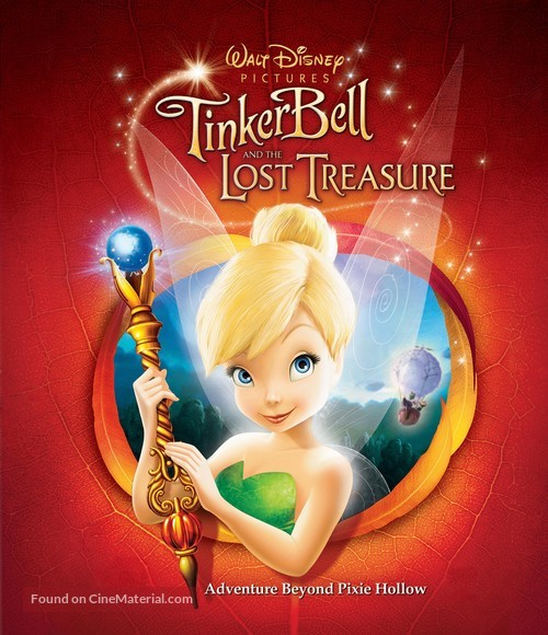 Tinker Bell and the Lost Treasure - Movie Poster