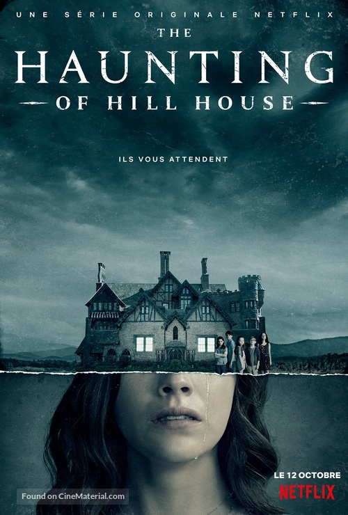 """The Haunting of Hill House"" - French Movie Poster"