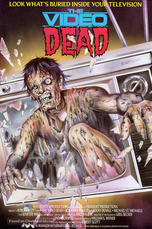 The Video Dead - Movie Poster