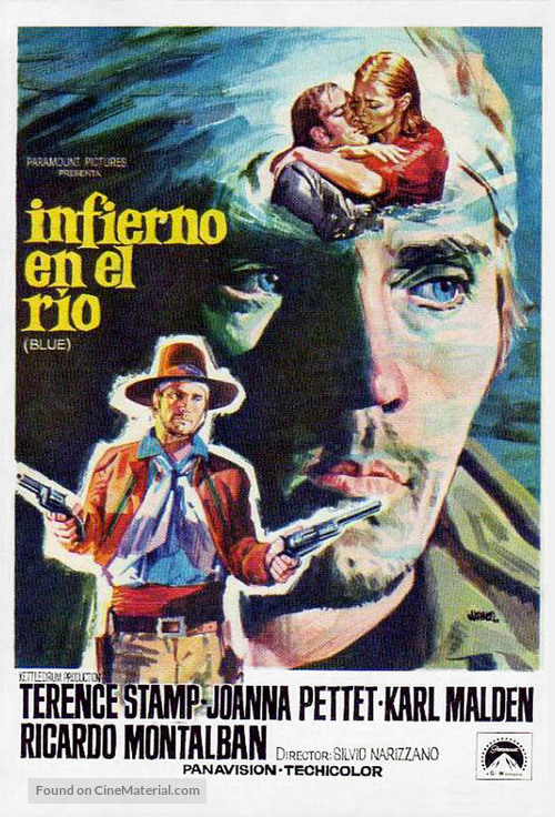 Blue - Spanish Movie Poster
