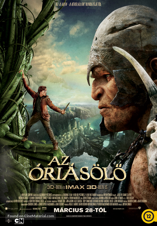 Jack the Giant Slayer - Hungarian Movie Poster