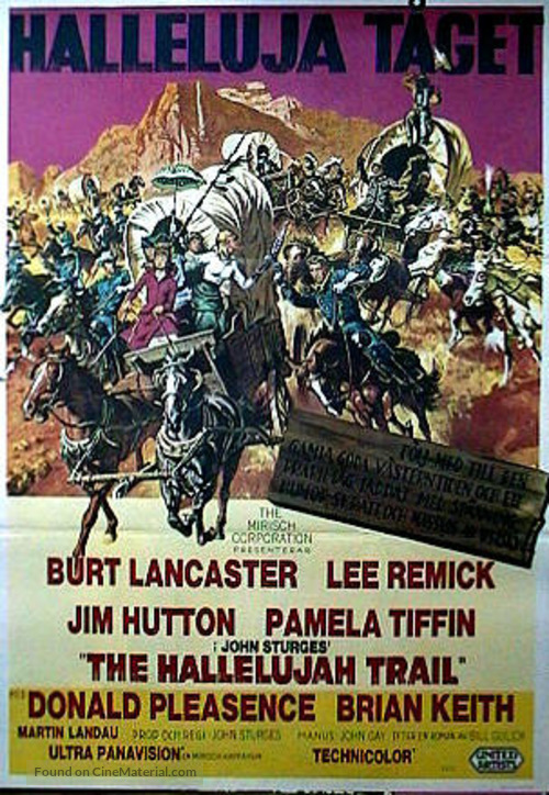The Hallelujah Trail - Movie Poster