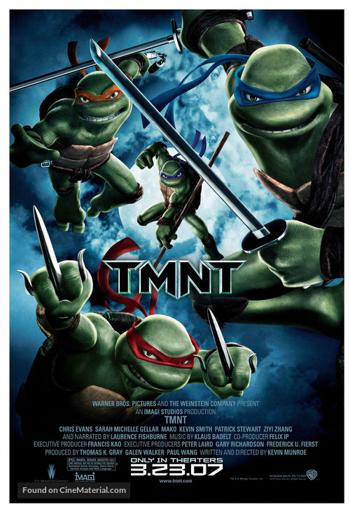 TMNT - Movie Poster