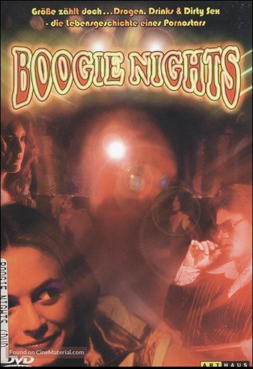Boogie Nights - German DVD movie cover