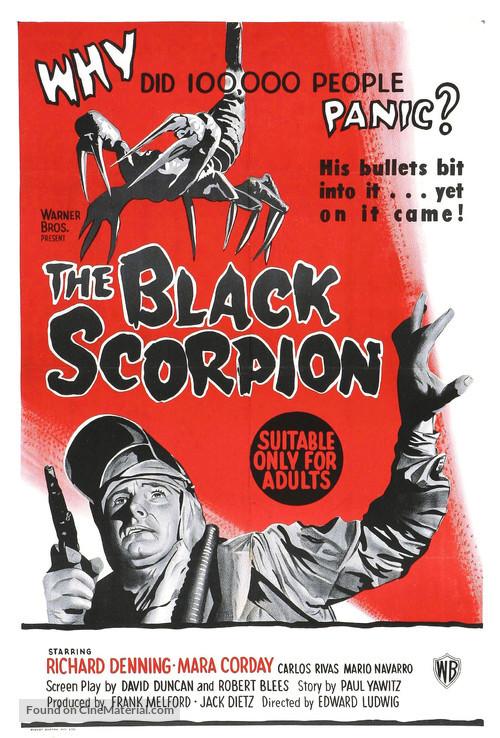 The Black Scorpion - Australian Movie Poster