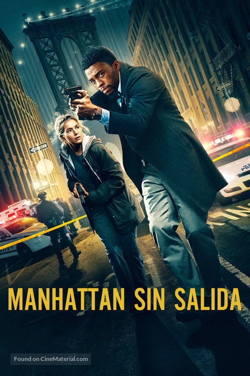 21 Bridges - Spanish Movie Cover
